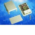Розетка телефонная внешняя / 2 порта RJ-11(6p4c) / 4 контактная, белая