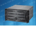 Корпус компьютерный  (серверный)  19'', 4U, размеры Ш*Г*В* 430мм*450мм*177,6мм, для плат размера ATX (12''x9.6'') ATX (9,6''x9.6