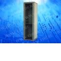 Шкаф напольный 22U серия TE (600х600х1166), серый, разобранный  (упакован в 2 коробки)