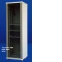 Шкаф напольный 42U серия T2 (600х800х2055), чёрный (упакован в 4 коробки)