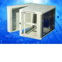 Шкаф настенный 9U серия ZH (600х550х501), 2-х секционный, серый, собранный