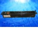 """Блок розеток 19"""", 12 розеток IEC C13, без шнура, гнездо IEC C14 на задней панели, высота 1.5U, 16А, с выключателем, чёрный"""