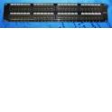 """Патч-панель UTP, 19"""", 48 портов RJ45, cat.6, 2U, Dual Type IDC, Netko СКС"""