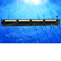 """Патч-панель UTP, 19"""", 24 порта RJ45, cat.5е, 1U, 110 тип"""