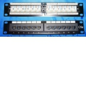 "Патч-панель UTP, 10"", 12 портов RJ45, cat.5е, 1U, 110 тип, ""L"""