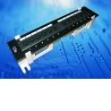 Патч-панель настенная MINI, UTP, 12 портов RJ45, cat.5е, 1U, Dual Type IDC, Netko