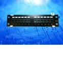 """Патч-панель настенная MINI, UTP, 12 портов RJ45, cat.5е, 1U, Dual Type IDC, """"L"""""""