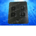 """Блок вентиляторов  19"""" ,  для шкафа KB6047,  4 вентилятора, с вилкой для электрического шнура"""