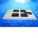 Блок вентиляторов 4 шт для TS,T2,TD 800 серый EOL