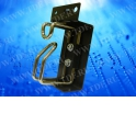 Кабельный органайзер кольцевой, металлический, правый, 1 металл. кольцо