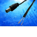 Шнур питания 2м с адаптерным разъемом DC (2.5 / 5.5)