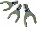 Вилочный кабельный наконечник SNBS 1,25-5 (НВ d=5,3мм) 0,5-1,5мм2, неизолированный, 100 шт