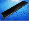 """Патч-панель FTP, 19"""", 24 порта RJ45, cat.5е, 1U, Dual Type IDC, Netko СКС"""