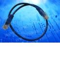 Патч-корд Netko СКС UTP4 cat.5e, 2.0м, литой коннектор, синий