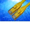 Патч-корд Netko СКС UTP4 cat.5e, 3.0м, литой коннектор, желтый