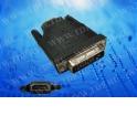 Переходник гнездо HDMI- штекер DVI в блистере