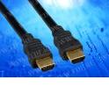 Шнур аудио-видео HDMI-HDMI цвет: золото  (5,0м) блистер (HDMI 1.3b)