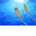 Кабель соед. шт. USB A - microUSB для зарядки и передачи данных, 1м, USB 2.0 белый
