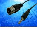 Шнур аудио-видео: штекер 5 PIN - штекер 3,5 мм (1.5 м)