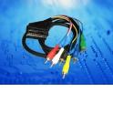 Шнур аудио-видео SCART-6RCA (1.2 м)