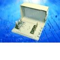Коробка распределительная на 3 плинта на защёлке (В15см*Г5,5см*Ш10,5см)