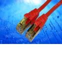 Патч-корд Netko СКС FTP4 cat.5e, 0.5м, литой коннектор, красный