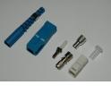 Коннектор ВО, SC/UPC SM, Simplex, 3.0 mm