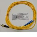 Патч-корд SC-FC/UPC SM Simplex 3.0мм 9/125, 3м