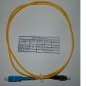 Патч-корд SC-FC/UPC SM Simplex 3.0мм 9/125, 1м