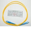 Патч-корд SC-SC/UPC SM Simplex 3.0мм 9/125, 1м