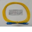Патч-корд SC-SC/UPC SM Simplex 3.0мм 9/125, 3м