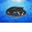 Шнур телефонный витой (4р4с) 4,5 метра / черный, блистер
