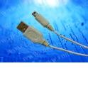 Кабель соед. шт. USB для зарядки приставки Nintendo DSI 1м, USB 1.1 белый