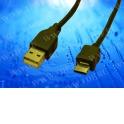 Кабель соед. шт. USB для зарядки и передачи данных телефонов Samsung comte 20 pin (ver2), 1м, USB 2.0 черный