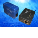 POE24B/LK-05-15 PoE, комплект передатчик (PSE)+приемник (PD), 24V 13W, кабель питания ЕВРО, тип2, 5V 1.5A, синий