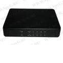 WS-SW5DP5P PoE, коммутатор, настольный, 5 портовый, 4 PoE 802.3at 100Mbit порта, 25W, 1 Uplink 100Mbit порт, кабель питания ЕВРО