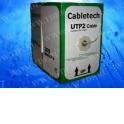 Кабель Cabletech UTP2 cat.5е, одножильный / 305м / Cu