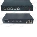UTP105PV-SV24 Пассивный видео приемник и  узловой сервер 24В 48Вт, 4 - канальный, 100-240 АС