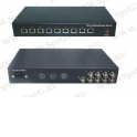 UTP109PV-SV24 Пассивный видео приемник и  узловой сервер 24В 120Вт,  9 - канальный, 100-240 АС