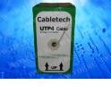Кабель Cabletech UTP4 cat.5е, одножильный / 305м / Cu