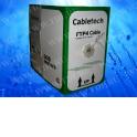 Кабель Cabletech FTP4 cat.5е, одножильный / экранированный / 305м / Cu