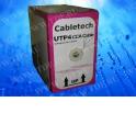 Кабель Cabletech UTP4 cat.5е, одножильный / 305м / CCA