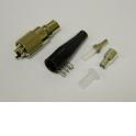 Коннектор ВО, FC/UPC SM, Simplex, 3.0 mm