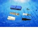 Коннектор ВО, SC, симплекс, для 0,9 мм, (потери >35 Дб), черный