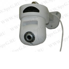 SLT-87CF IP Камера, CMOS, 5.0M, 1080P RT, PTZ, H.264, слот mSD карты, ИК-подсветка 5м 6 LEDs, объектив 3.6мм, аудио, PoE, DC12V