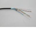 Кабель LC FTP4 cat.5, одножильный / экранированный / 305м / CCA / для наружных работ