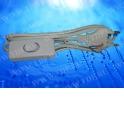 Шнур сетевой с выключателем и вилкой (без разъема) (шнур для бра), 2*0,5мм2, 220V/2,5A, 1,8 м, белый