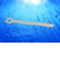 Стяжка-липучка многоразовая 150*12 /10 шт (белая)