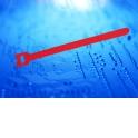 Стяжка-липучка многоразовая 200*12 /10 шт (красная)
