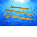 Стяжка-липучка многоразовая 200*12 /10 шт (желтая) EOL